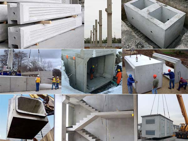 Prefabricate din beton, elemente de serie şi atipice
