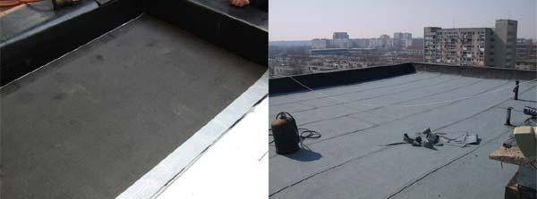Hidroizolaţii acoperişuri