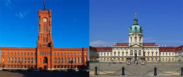 Berliner Rathaus - Palatul Charlottenburg