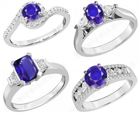 Inele-cu-tanzanit-si-diamante