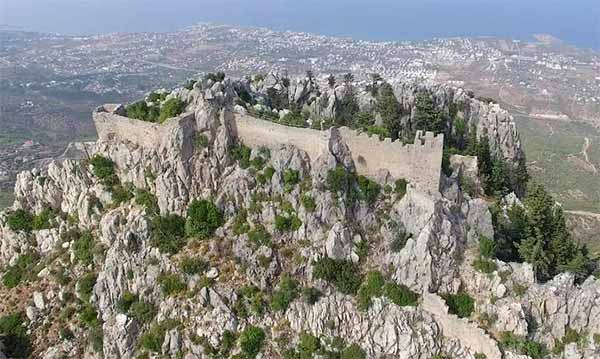 Castelul Sfântul Ilarion din Kyrenia